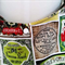Ladies Handbag Olive Bag Retro Bag Cotton Handmade Bag Purse Vintage Bag
